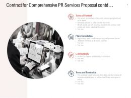 Contract For Comprehensive PR Services Proposal Contd Ppt Powerpoint