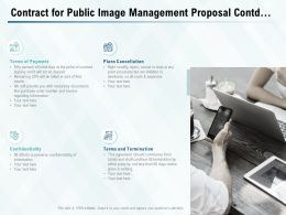 Contract For Public Image Management Proposal Contd Ppt Powerpoint Presentation Ideas