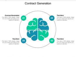 Contract Generation Ppt Powerpoint Presentation Icon Example Cpb