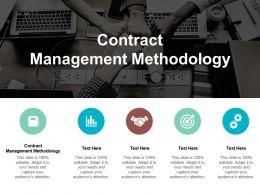 Contract Management Methodology Ppt Powerpoint Presentation Summary Shapes Cpb