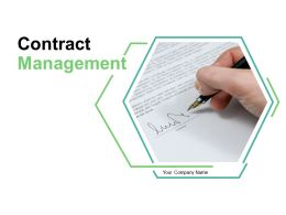 Contract Management Ppt Professional Infographic Template Contract Life Cycle Management