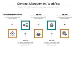 Contract Management Workflow Ppt Powerpoint Presentation Inspiration Graphics Cpb