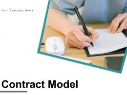 Contract Model Management Relationship Strategic Performance Operational