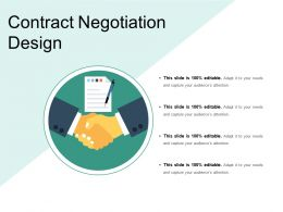 Contract Negotiation Design Powerpoint Slide