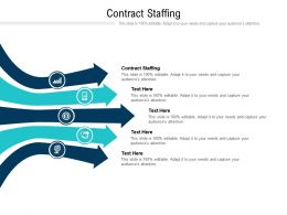 Contract Staffing Ppt Powerpoint Presentation Slides Deck Cpb