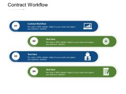 Contract Workflow Ppt Powerpoint Presentation Styles Smartart Cpb