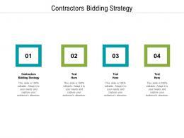 Contractors Bidding Strategy Ppt Powerpoint Presentation Portfolio Ideas Cpb