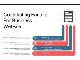 Contributing Factors For Business Website