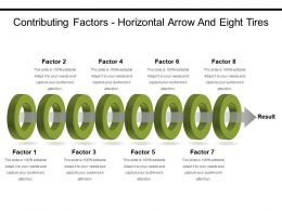 Contributing Factors Horizontal Arrow And Eight Tires