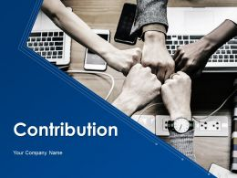 Contribution Powerpoint Presentation Slides