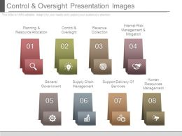 Control And Oversight Presentation Images