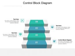 Control Block Diagram Ppt Powerpoint Presentation Clipart