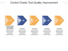 Control Charts Tool Quality Improvement Ppt Powerpoint Presentation Pictures Graphics Example Cpb
