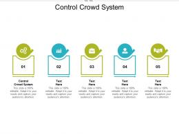 Control Crowd System Ppt Powerpoint Presentation File Introduction Cpb