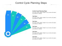Control Cycle Planning Steps Ppt Powerpoint Presentation Styles Background Cpb