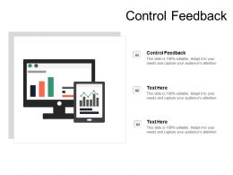 Control Feedback Ppt Powerpoint Presentation Gallery Inspiration Cpb