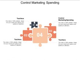 Control Marketing Spending Ppt Powerpoint Presentation File Layout Ideas Cpb