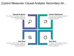 Control Measures Causal Analysis Secondary Air Quality Standard