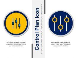Control Plan Icon