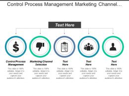 Control Process Management Marketing Channel Selection Business Marketing Cpb