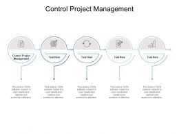 Control Project Management Ppt Powerpoint Presentation Slides Outline Cpb