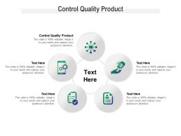 Control Quality Product Ppt Powerpoint Presentation Model Professional Cpb