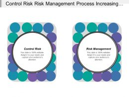 Control Risk Risk Management Process Increasing Environmental Concerns