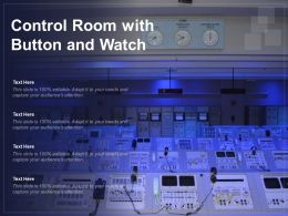 Control Room With Button And Watch