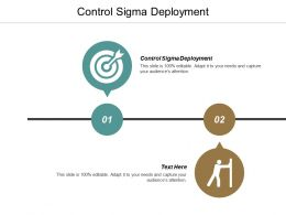 Control Sigma Deployment Ppt Powerpoint Presentation Icon Show Cpb