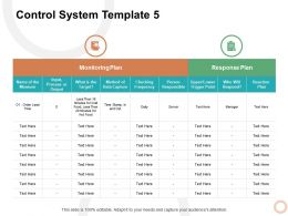Control System Frequency Ppt Powerpoint Presentation Model Outline