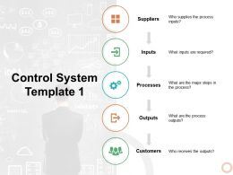 Control System Suppliers Ppt Powerpoint Presentation Ideas Layout Ideas