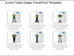 Control Tower Design Powerpoint Templates