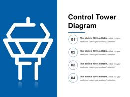 Control Tower Diagram Powerpoint Graphics