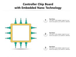 Controller Chip Board With Embedded Nano Technology