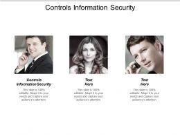 Controls Information Security Ppt Powerpoint Presentation File Design Ideas Cpb