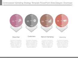 Controversial Marketing Strategy Template Powerpoint Slide Designs Download