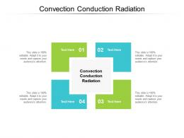 Convection Conduction Radiation Ppt Powerpoint Presentation Inspiration Layout Cpb