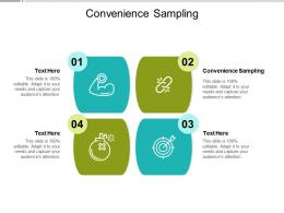 Convenience Sampling Ppt Powerpoint Presentation Inspiration Rules Cpb