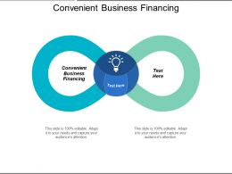 Convenient Business Financing Ppt Powerpoint Presentation Ideas Professional Cpb
