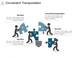 Convenient Transportation Ppt Powerpoint Presentation Gallery Pictures Cpb