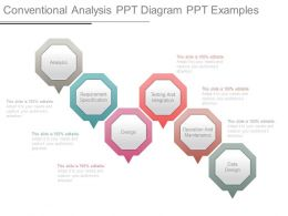 Conventional Analysis Ppt Diagram Ppt Examples