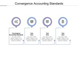 Convergence Accounting Standards Ppt Powerpoint Presentation Outline Designs Download Cpb