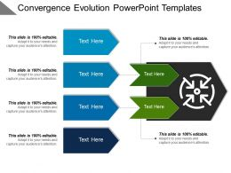 Convergence Evolution Powerpoint Templates