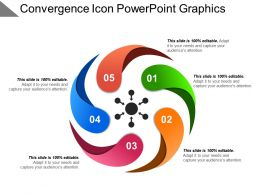 Convergence Icon Powerpoint Graphics