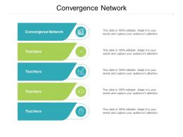 Convergence Network Ppt Powerpoint Presentation Infographics Rules Cpb