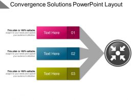 Convergence Solutions Powerpoint Layout