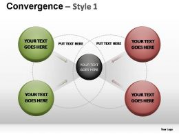 Convergence Style 1 Powerpoint Presentation Slides