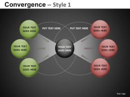 Convergence Style 1 Powerpoint Presentation Slides db