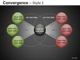 Convergence Style 1 Powerpoint Presentation Slides db