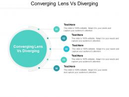 Converging Lens Vs Diverging Ppt Powerpoint Presentation Outline Layout Cpb